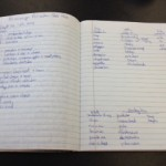 Camping Notebook & To - Do List